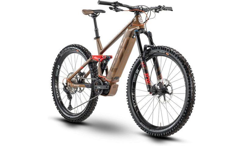Husqvarna Mountain Cross MC7 2020 in der Farbe bronze / glossy bronze / red