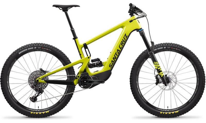 Santa Cruz Heckler 8 CC S-Kit 2021 in der Farbe yellowjacket and black