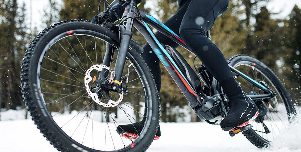 E-Biken im Winter – das solltest du berücksichtigen