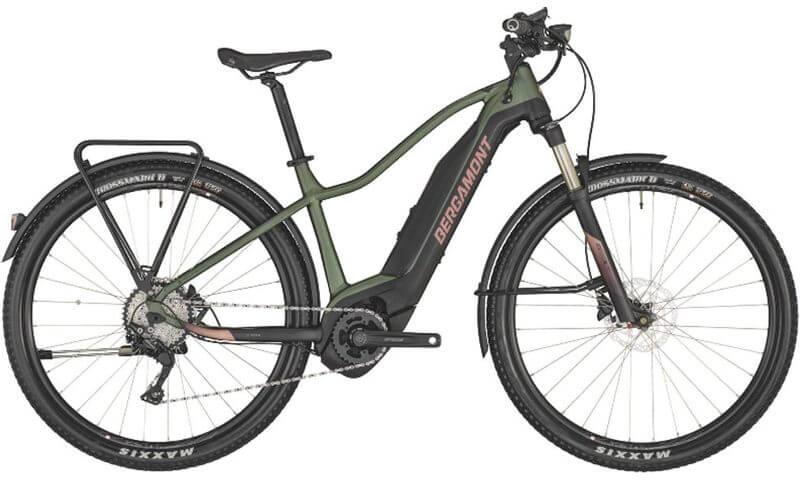Bergamont E-Revox FMN EQ 2020 in der Farbe pale green / black / rose (matt)