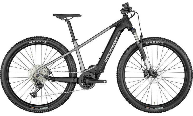 Bergamont E-Revox Sport 2021 in der Farbe chrome / black (shiny / matt)