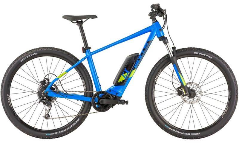 Bulls Copperhead E1 29 2021 in der Farbe anodized blue