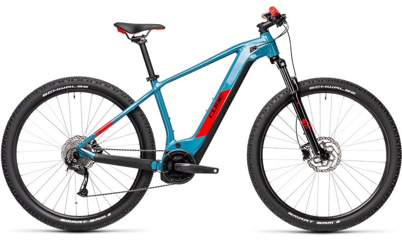 Cube Reaction Hybrid Performance 500 2021 in der Farbe blue'n'red