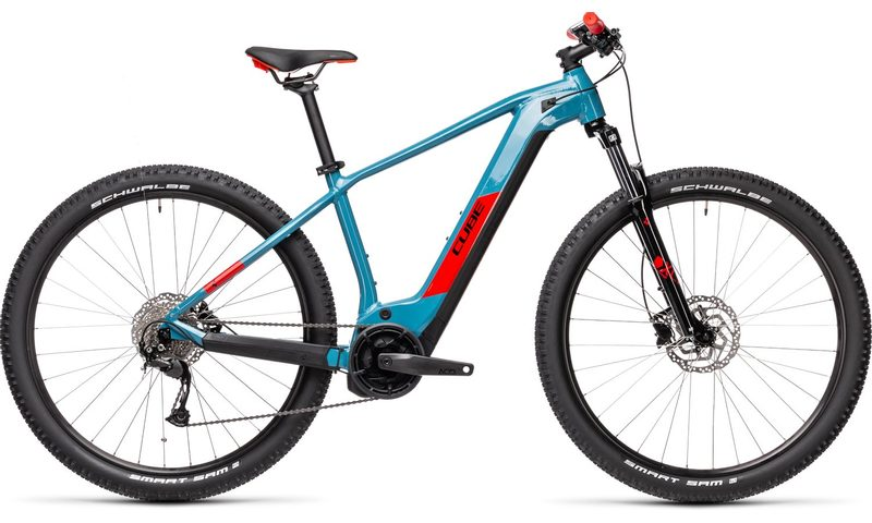 Cube Reaction Hybrid Performance 625 2021 in der Farbe blue'n'red