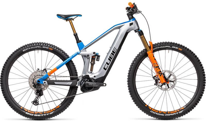 Cube Stereo Hybrid 140 HPC Actionteam 625 Nyon 2021 in der Farbe actionteam