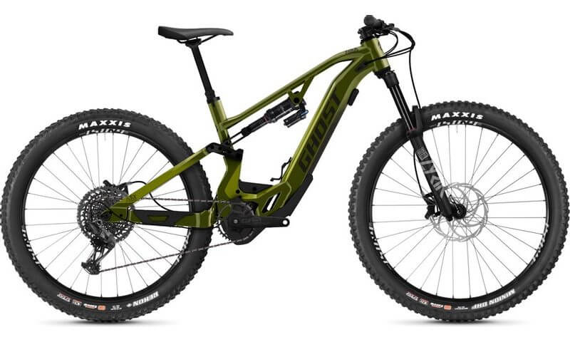 Ghost Hybride ASX Universal 160 2021 in der Farbe olive / warmstone