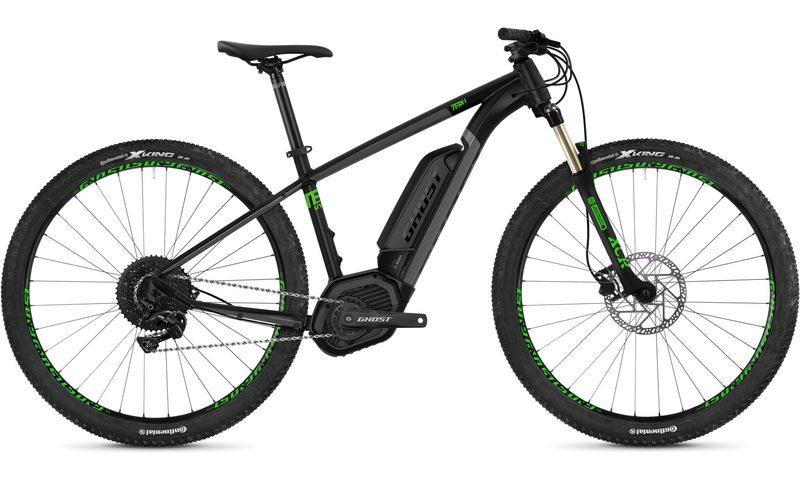 Ghost Teru B4.9 AL U 2020 in der Farbe jet black / urban gray / riot green