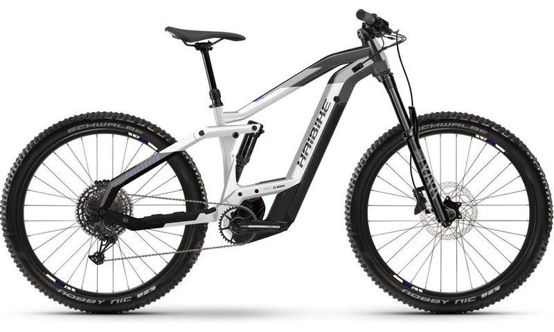Haibike FullSeven 8 2021 in der Farbe anthracite / white / black
