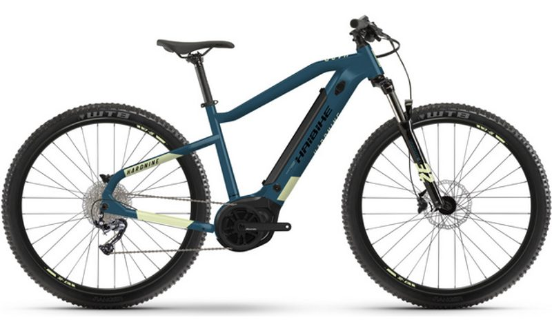 Haibike HardNine 5 2021 in der Farbe blue / canary