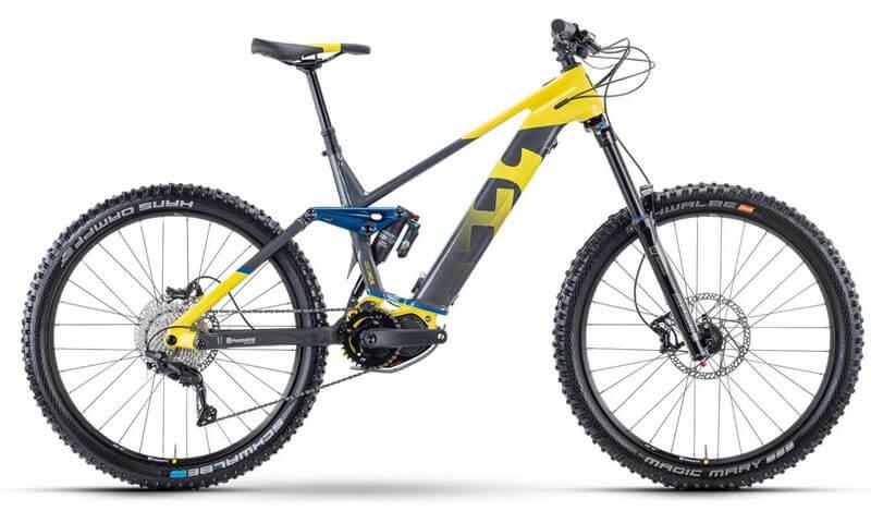 Husqvarna Hard Cross 6 2021 in der Farbe yellow / anthracite / blue