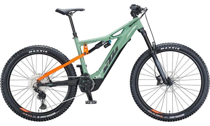 KTM Macina Kapoho 2972 2021 in der Farbe plant green (black + orange)