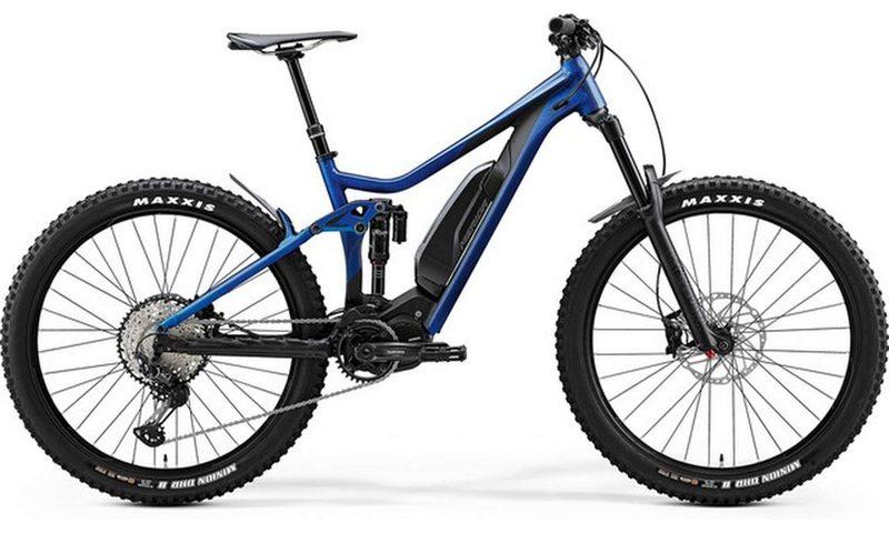 Merida eOne Sixty 800 SE EP1 2020 in der Farbe blau / schwarz