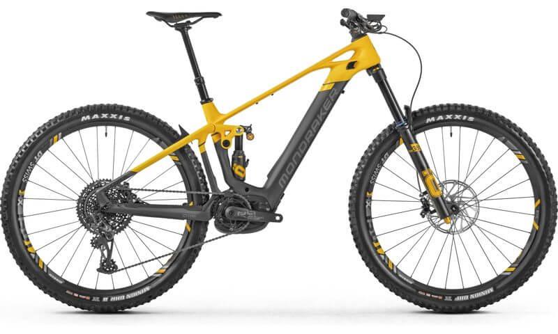 Mondraker Crafty Carbon XR 2021 in der Farbe öhlins yellow / nimbus grey