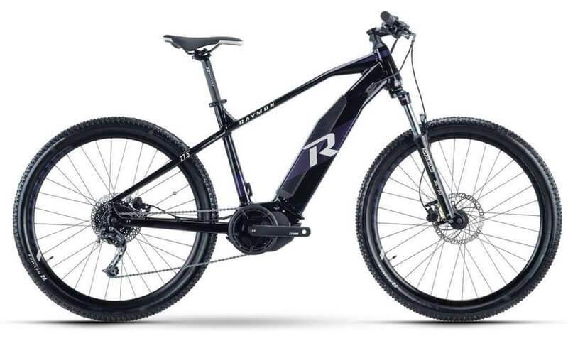 R Raymon HardRay E-Seven 5.0 2021 in der Farbe purple / black / lightgrey
