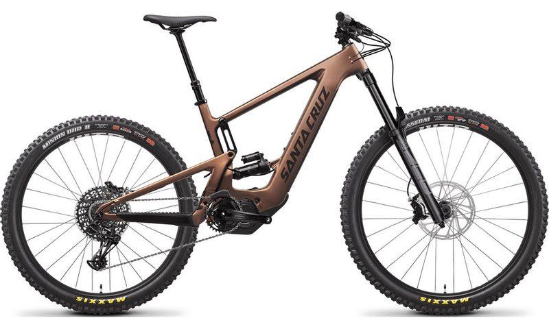 Santa Cruz Bullit 3 CC R-Kit 2021 in der Farbe matte copper and black