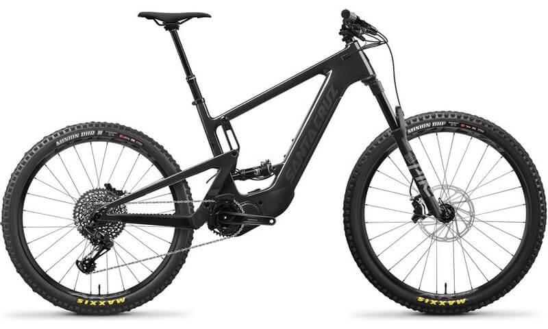 Santa Cruz Heckler 8 CC MX S-Kit 2021 in der Farbe gloss carbon and black