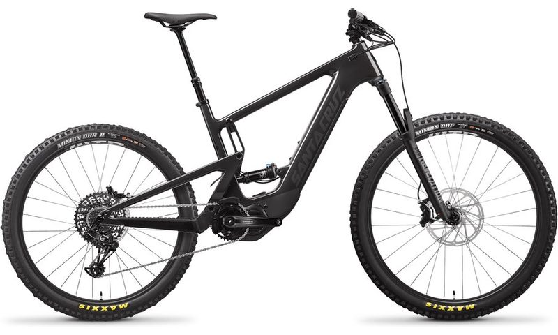 Santa Cruz Heckler 8 MX R-Kit 2021 in der Farbe gloss carbon and black