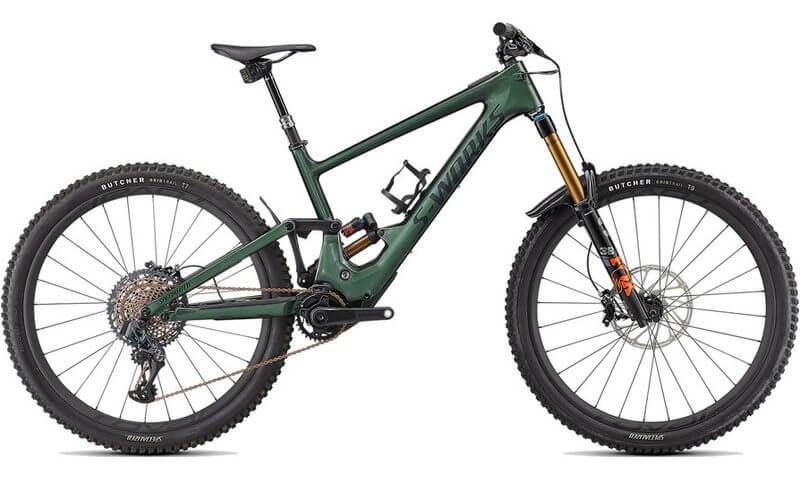 Specialized S-Works Turbo Kenevo SL 2022 in der Farbe gloss oak green metallic / satin black