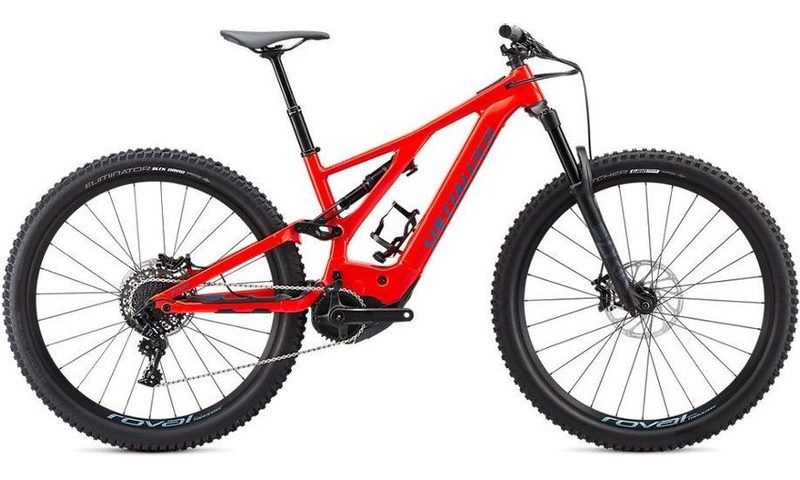 Specialized Turbo Levo Comp 2020 in der Farbe rocket red / storm grey