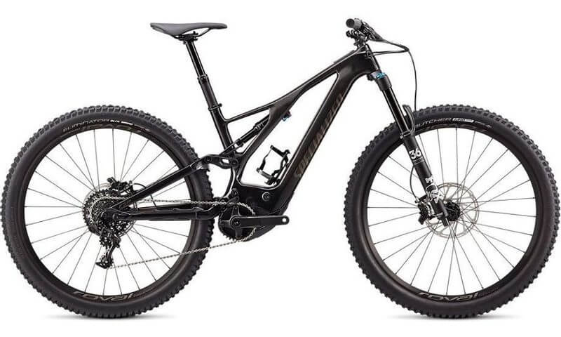 Specialized Turbo Levo Expert Carbon 2020 in der Farbe gloss carbon / gun metal