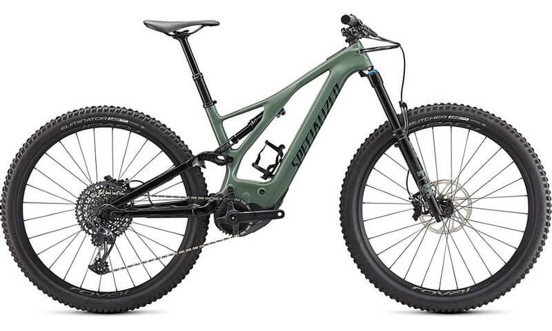 Specialized Turbo Levo Expert Carbon 2021 in der Farbe sage green / forest green