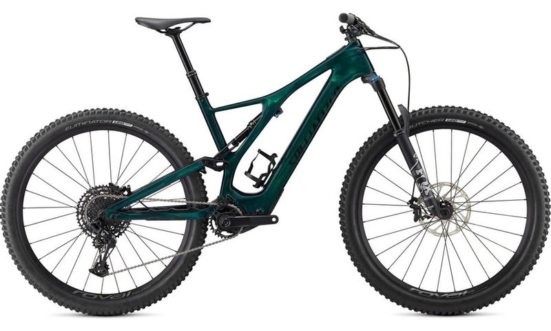 Specialized Turbo Levo SL Comp Carbon 2021 in der Farbe green tint carbon / black