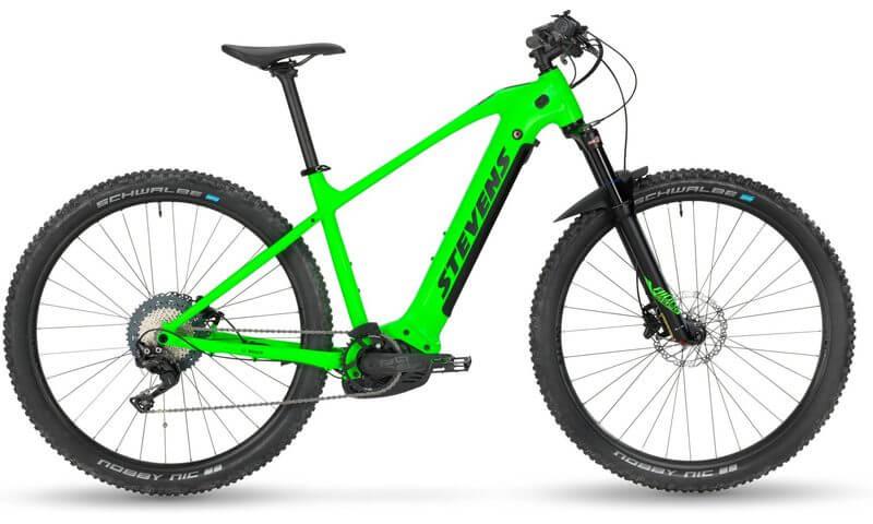 Stevens E-Juke 2020 in der Farbe venom green