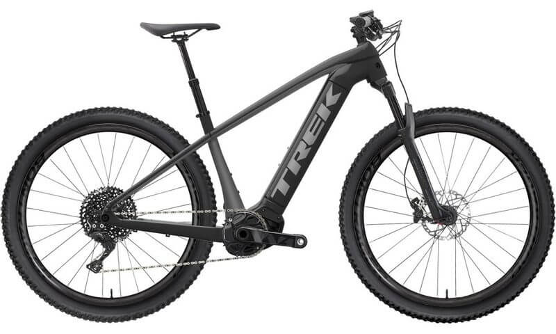 Trek Powerfly 7 2021 in der Farbe solid carchoal / slate